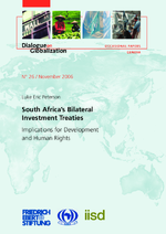 South Africa's bilateral investment treaties