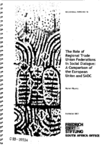 The role of regional trade union federations in social dialogue