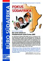 Der erste Schritt zur Präsidentschaft Jacob Zumas 2009